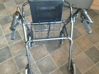 elling a four wheel rollator It has done less than one mile ,
