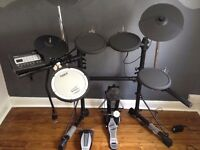 Roland TD-3KW V-compact electronic drum kit with Roland MDS-3C stand