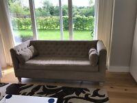 Elegant 3 seater sofa.
