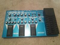 Boss ME-50 guitar effects pedal - good condition