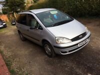 2001 Ford Galaxy 1.9 Tdi.,7 Seater,Spares or Repair, Starts and Drives, Drive Away!