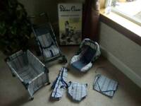 Toy Pushchair Buggy Silver Cross