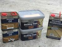 Decking oil and stain BRAND NEW