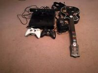 XBOX 360 Console 500 GB Slim with Kinect and 31 Games