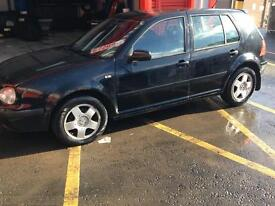 Vw Golf 1.9 GT TDI £200 driving well for parts or repair