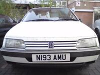 1995 PEUGEOT 405 1.9TD QUICK COLLECTION + READY TO DRIVE AWAY, HARINGEY N LDN N8 E**Y 262740671021