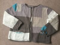 Hand knitted jacket/cardigan