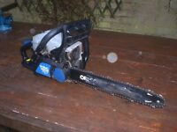 MACALLISTER MCSP40 PETROL CHAINSAW FOR SALE