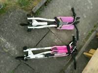 Two Flicker scooters can separate