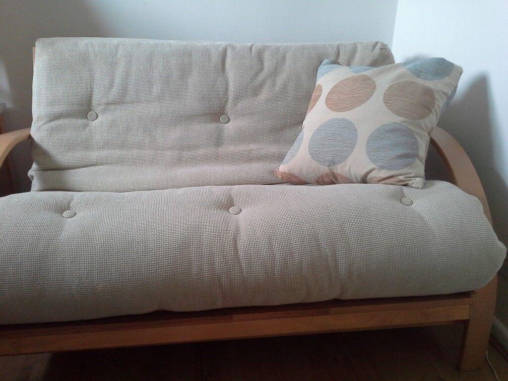 Kyoto New York Futon Sofa Bed Reddish Stockport