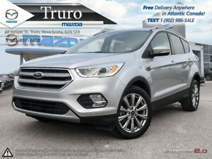 2017 Ford Escape $108/WK TX IN! LOADED! AWD! LEATHER! PANO-ROOF!