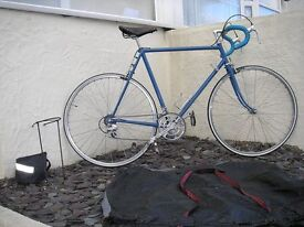 Continental racing bike 1980s, 56 in frame , road ready. + extras. Bike 2 Phillips classic tourer