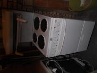 White Creda HO50E free-standing electric cooker