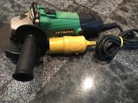 Hitachi grinder 110v