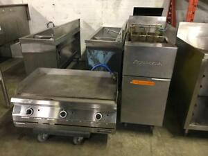 Frymaster fryer and 36 gas  garland griddle ( shipping avaiable with in Canada ) save $$$