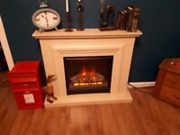 Homebase electric fireplace