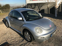 VW Beetle with Full Service History - NEW MOT - Fully Loaded Air con / Leather seats / Bluetooth