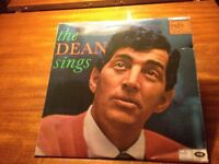 The Dean Sings. Long-play vynyl record good condition. (Collect only)
