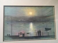 Appledore Limited Edition Watercolour Print by William Atkins 62/100