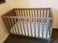 Ikea Sundvik Cot Bed Grey Brown