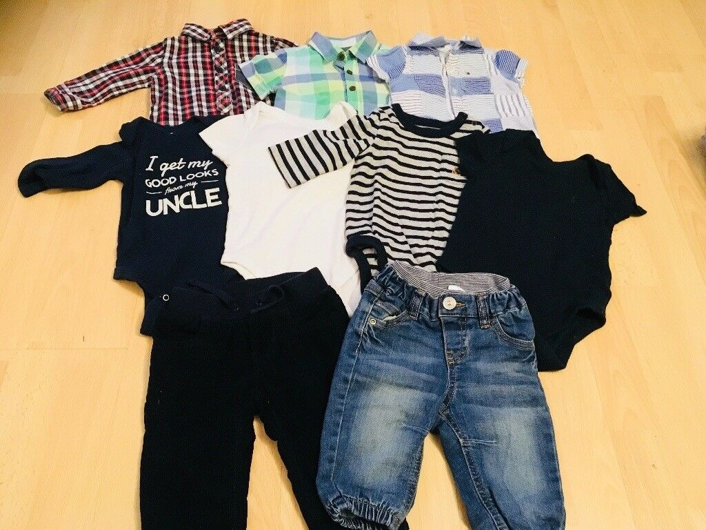 Baby Boys Clothing Bundle 3-6 Months, Baby gap, Next, Tommy Hilfiger
