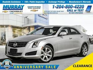 2014 Cadillac ATS *4DR SDN 2.0L LUXURY AWD, LEATHER, HEATED SEAT