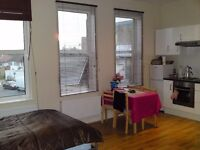 WNL287-6. First floor spacious studio on West Hendon Broadway. Rent includes all bills except elect