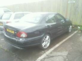 Jaguar X type BREAKING spares for repair 2.0 tdci