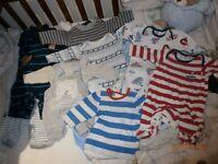 BABY BOY BUNDLE NEWBORN -3MONTHS