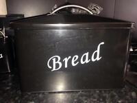 Tea,coffee and sugar with bread bin