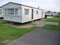 8 Birth Static Caravan, double glazed & centrally heated throughout at Cherry Tree, Burgh Castle
