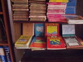 """Large collection of Ordnance Survey maps - 1"""", 1/50000, 25000. Also European and East African maps."""