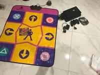 PLAYSTATION 2 WITH DANCEMAT
