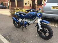 Child's 50cc motorbike