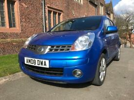 Nissan Note 08 reg Automatic 2 keys