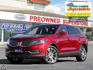 2016 Lincoln MKX Reserve***ADAPTIVE CRUISE, LANE KEEPING ASSIST*