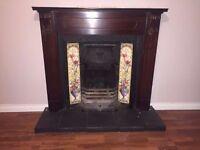 Cast Iron Fireplace & Surround