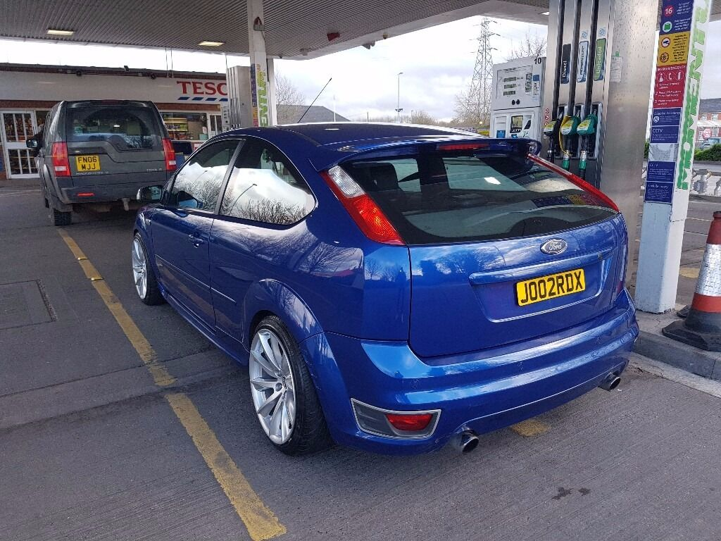 ford focus st st st turbo modified stanced  burton