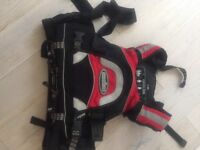 Nookie River Monster life vest.size large and in great condition