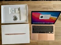 Apple MacBook Air Notebook Laptop 13 2020 Rose Gold | 512GB 8GB i5-10th Gen | Boxed with warranty.
