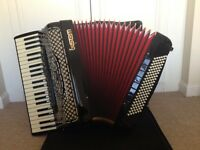 SEM 502-D Gold Accordion