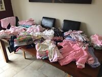 Selection of Baby Girls Clothes