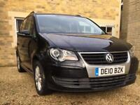 VW Touran 2.0 TDI Match FSH 2010, Park Assist, Sat Nav