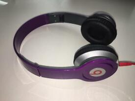 Beats headphones purple