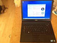 Dell Latitude E6410, i5 2.4, 2gb ram, 250gb hard drive on win 7 pro.