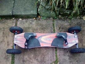Mountain Board Furnace Creek Series 2. All springs, straps, tyres and board in great condition. £50