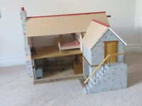 Collectors Dolls House - Fisherman's Cottage One Off, Original Hand Built (one twelve scale)