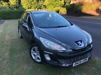 Peugeot 308 vti s manual 5 door