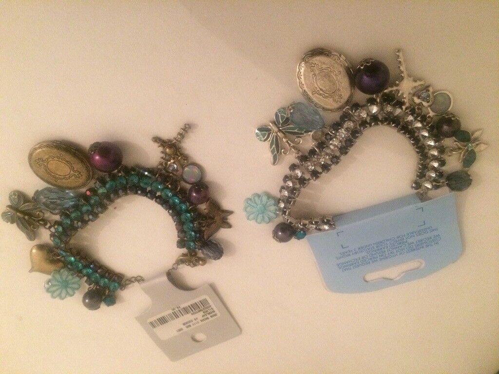 x2 Bracelets - New with tags - Idea Xmas Presents