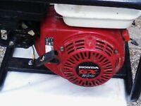 honda G X 200 generator 110--240v outputs